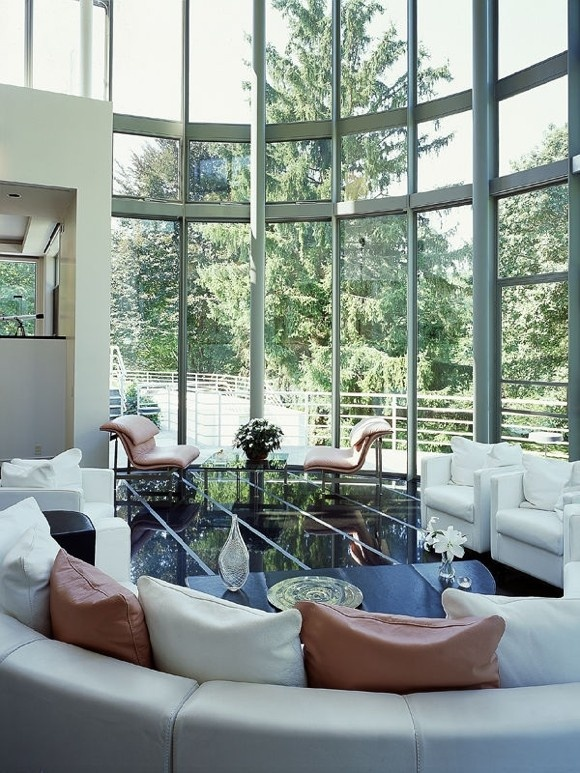 86 Best Round Rooms  Curved Round Odd Shaped Rooms Windows And Beauteous Circular Living Room Design Decorating Design