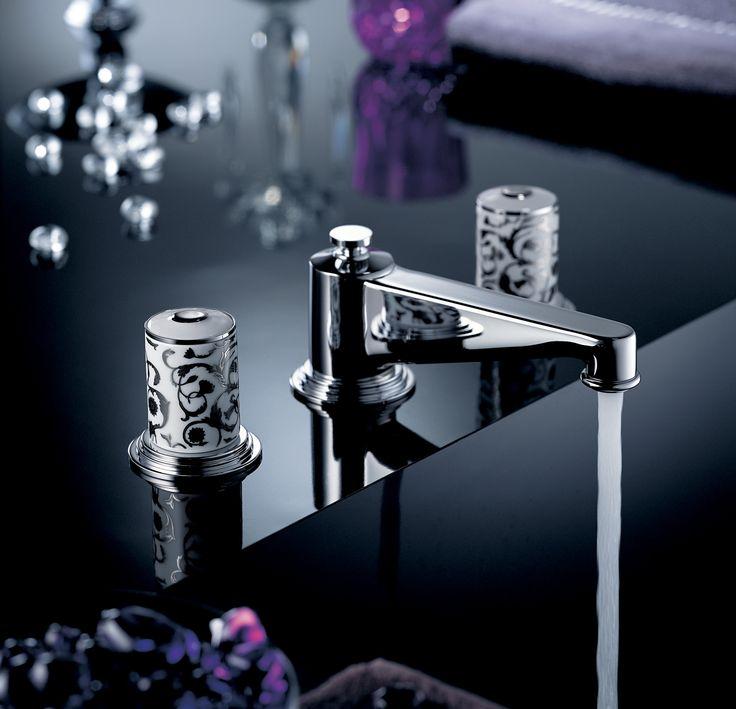 Frivole designed by @PierreYvesRochon  #transitional #faucets #luxury #pierreyvesrochon #frivole #bathrooms #thgparis