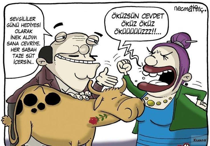 Sizi Güldürecek Komik Aşk Karikatürleri – Ofpof