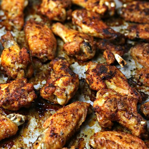 Oven Fried Crispy Baked Chicken Wings Recipe