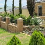 """An example of our """"Tubular Fencing Panorama"""" Secure A Fence Perth Australia."""