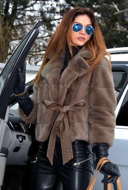 New Collection Gabriel Pisani Royal Saga Mink Fur Jacket Coat - Multi-Trade
