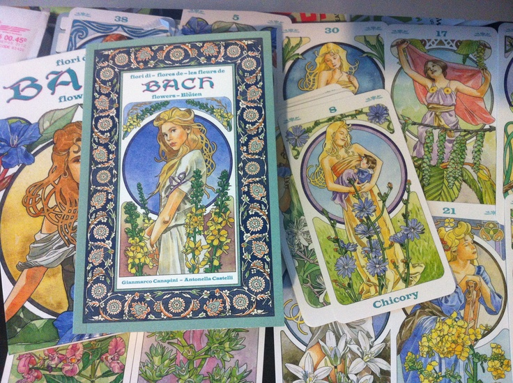 Bach Flower Cards to be used like Tarot, based on the Back Flower Remedy.