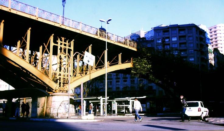 Viaduto do Chá.  I love the SP downtown.