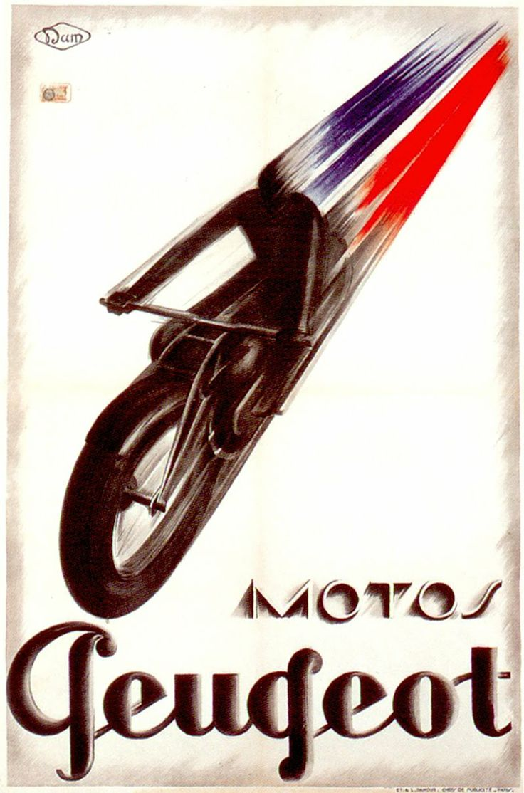 1928 dam motos peugeot vintage ads and signs pinterest studios and peugeot. Black Bedroom Furniture Sets. Home Design Ideas