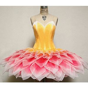flower girl from primadonna www.theworlddances.com/ #costumes #tutu #dance