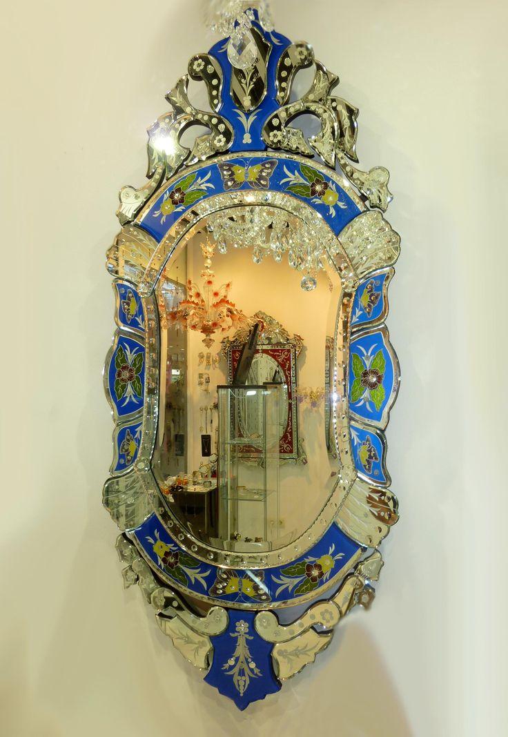 Venezianischer Spiegel PALERMO. Dekoration Beltrán, Ihr Spiegel-Shop für elegante Spiegel in venezianischem Stil.