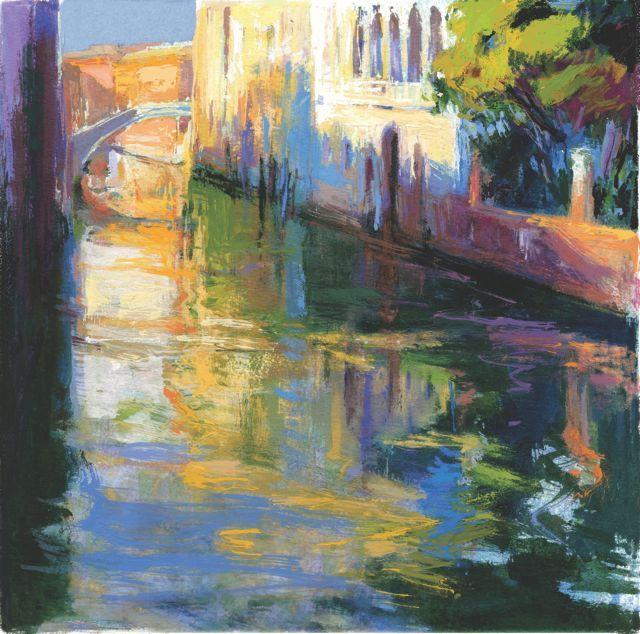 """""""Canareggio""""Venecia.33x33cm.M.Teresa Martin-Vivaldi"""