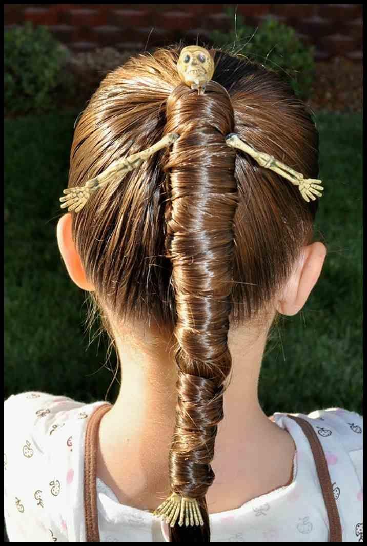 Halloween Frisuren: 20 inspirierende Kinderfrisuren für den Abend …