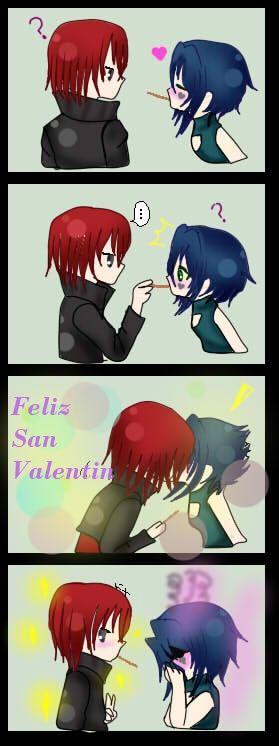 Feliz San Valentin by kurimutu.deviantart.com on @deviantART