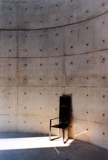 Unesco meditation Space  Paris, France  By Tadao Ando  Source: Architectuul