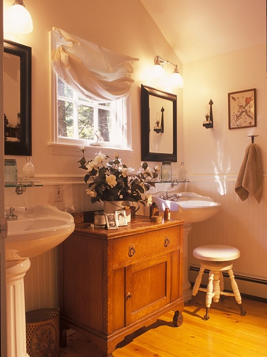 country cottage bathroom gramma s house pinterest