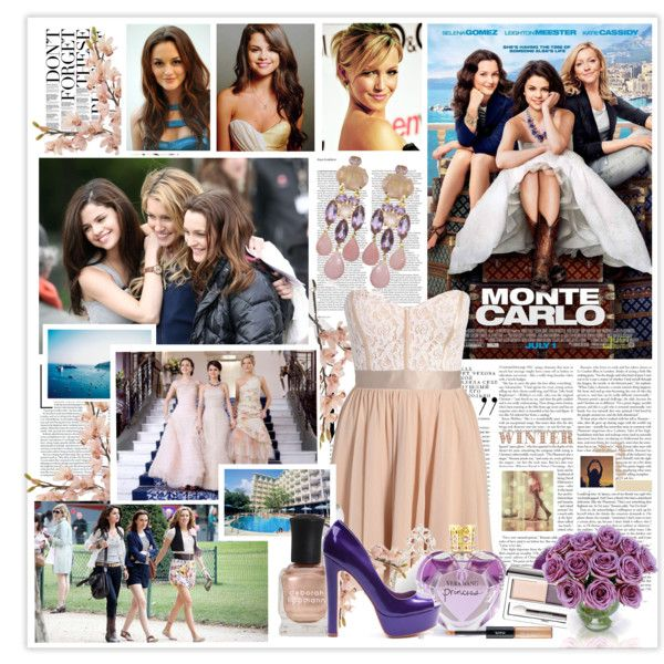 Monte Carlo movie, created by keep-glitter on Polyvore