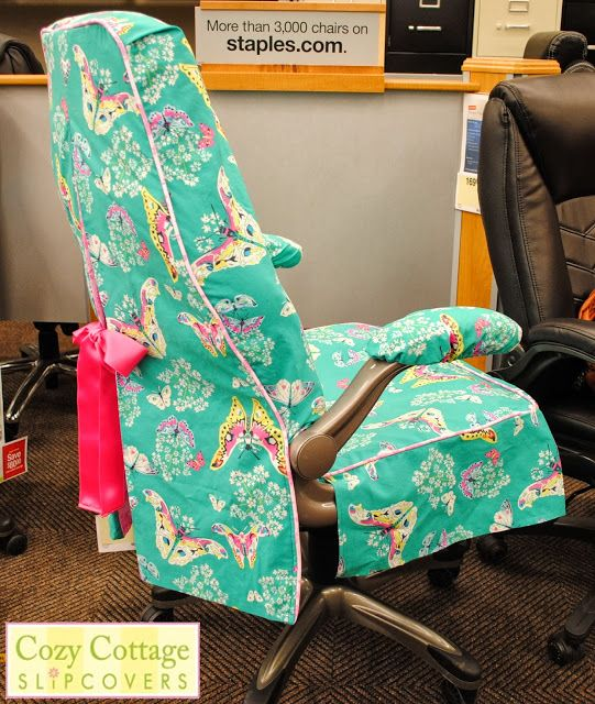115 best desk chair slipcovers and makeovers images on pinterest      rh   pinterest com