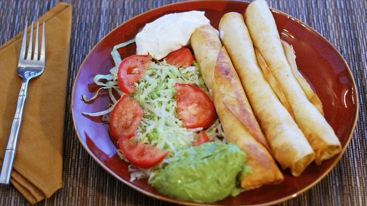 You asked for it - How to make Flautas / Taquitos