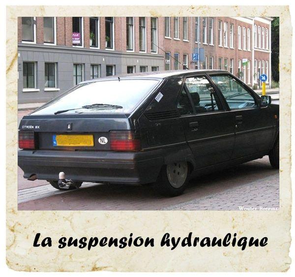 Les suspensions hydrauliques sur les Citroën...Le top du confort !