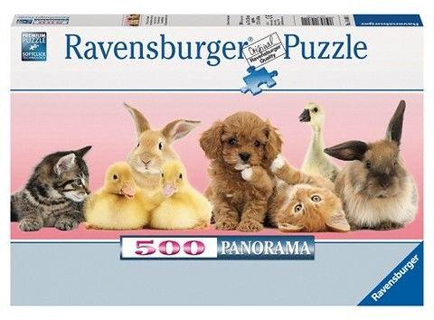 Ravensburger Animal Friends 500pc Panorama Puzzle