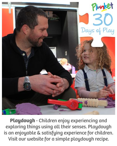 #30daysofplay today is about the magic of playdough!