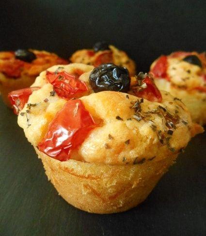 Muffins façon pizza Plus