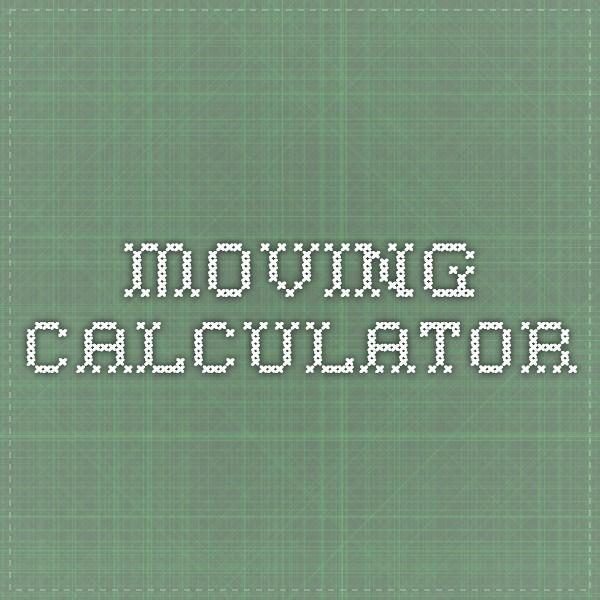Moving Calculator
