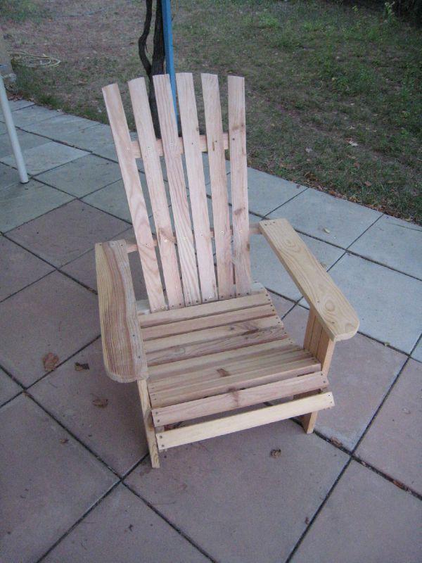 1000 id es sur le th me fauteuil adirondack sur pinterest for Transat en bois pliable
