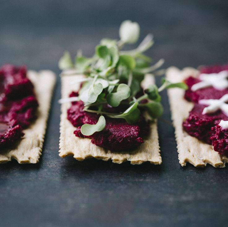 Roasted Beet & Walnut Hummus Recipe