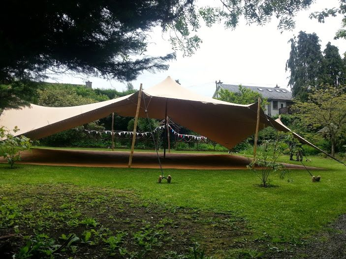 Biege Stretch Canopy set up at The Water GardensThomastownCo. & 89 best Weddings and EventsIreland images on Pinterest