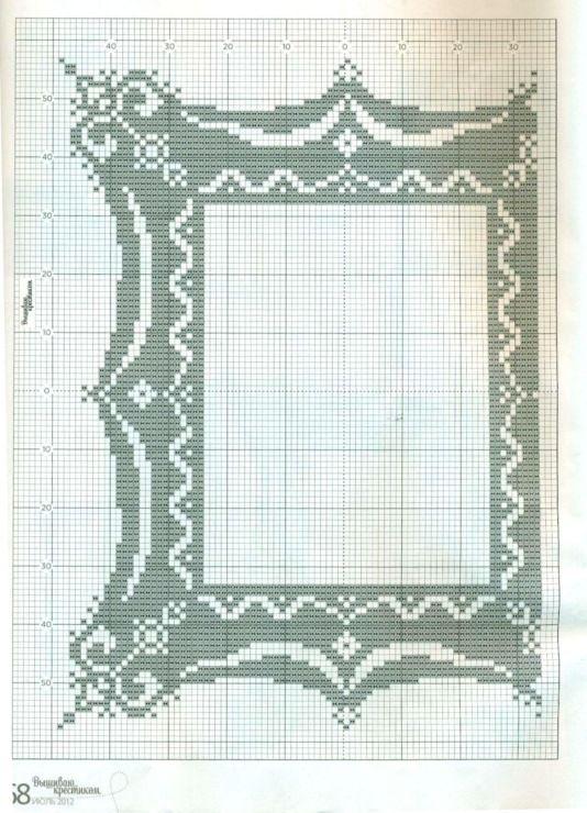 объявления высоковска вышитые рамки для фото крестом схемы покажу