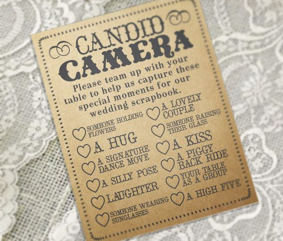 WEDDING RECEPTION GAME /// Printable pdf by MilkBananaStudio, $15.00
