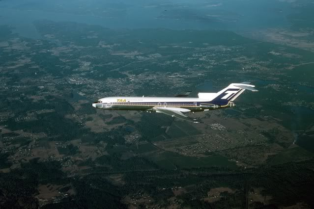 Trans Australia Airlines Boeing 727-276 (VH-TBO)