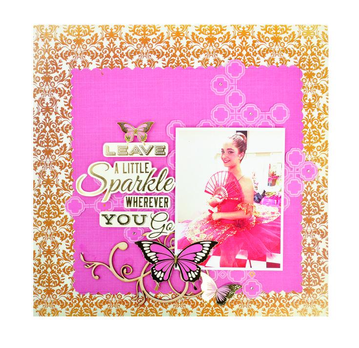 Leave a little sparkle by Danielle Krivan