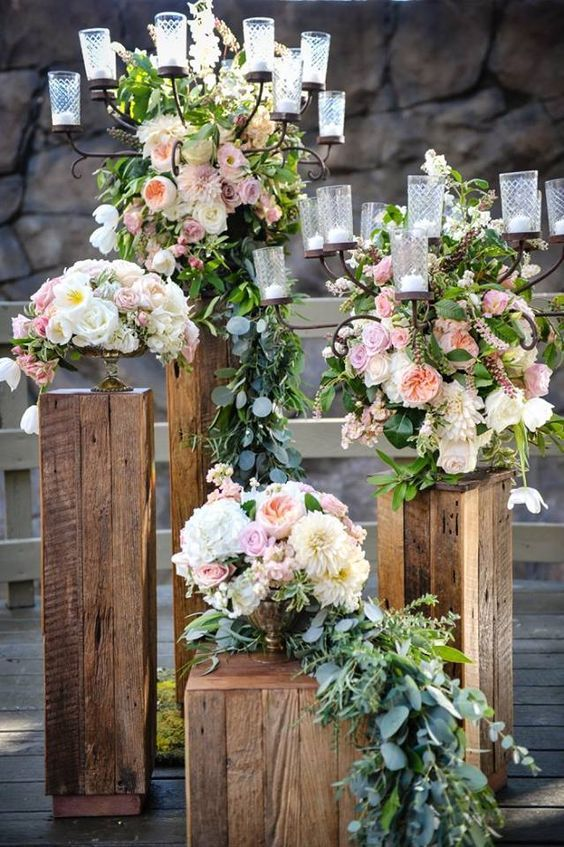 Wedding Ceremony Inspiration Wedding ceremony flowers
