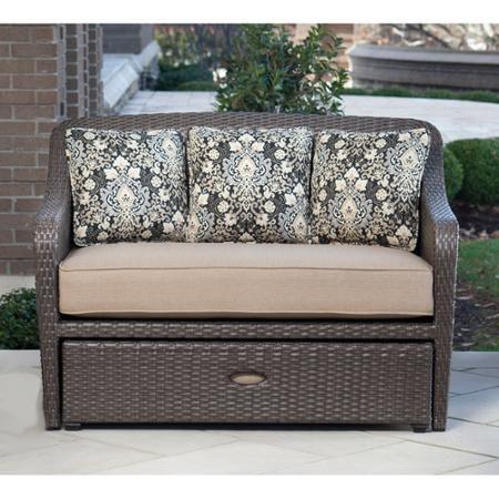 Hanover Outdoor Furniture Langdon Hills 2-Piece Cuddle Set