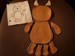 DIY: Little Mikey Plushie From Monsters Inc. | The Imperfect Notebook
