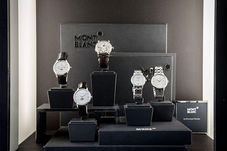 Bortolin Gioielli Udine - le nostre vetrine #montblanc #gioielli #orologi. Visita il nostro sito www.bortolingioielli.it