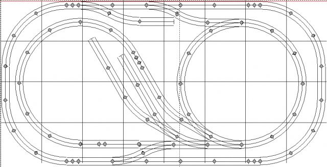 4x8' Track Plans for Model Train Layouts: O Gauge Twists
