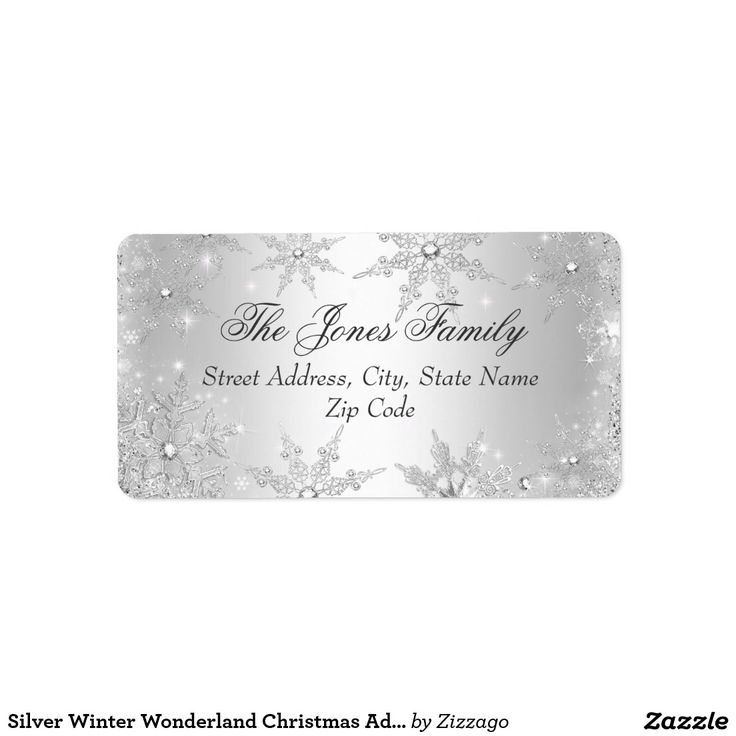 The 25+ best Christmas address labels ideas on Pinterest Print - free christmas return address labels template