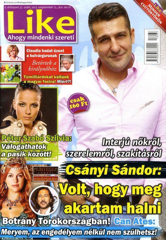 Csányi Sándor (2013.09.12.) #CsanyiSandor