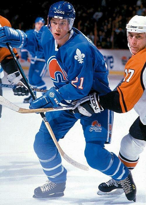 Peter Forsberg | Quebec Nordiques | NHL | Hockey