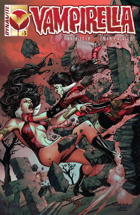 Vampirella: Volume 3 (2016) 3 Cover diSergio Fernandez Davila #DynamiteComics #Vampirella