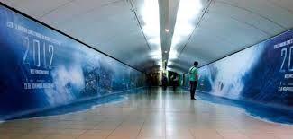 installazione Metro film 2012