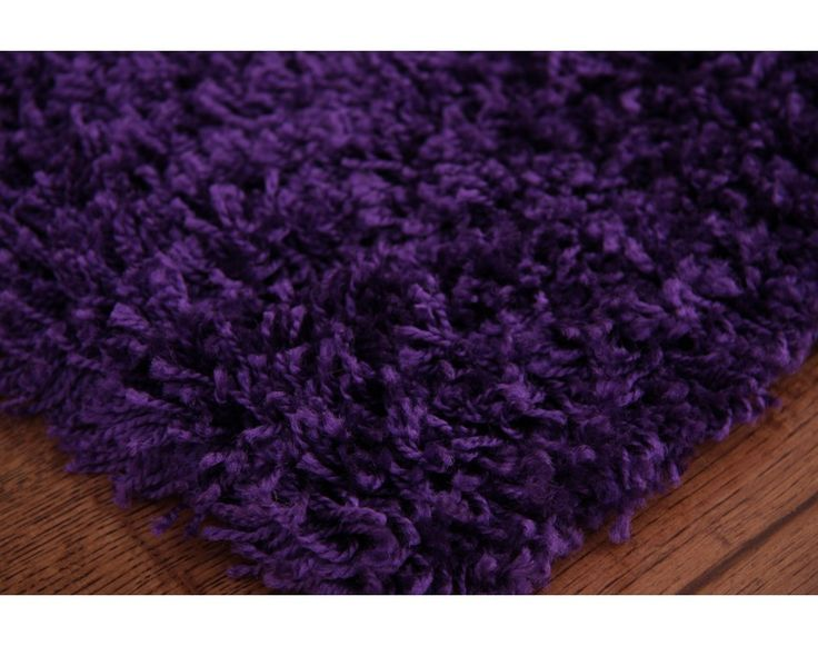 purple rugs modern soft deep purple shaggy rug stockholm