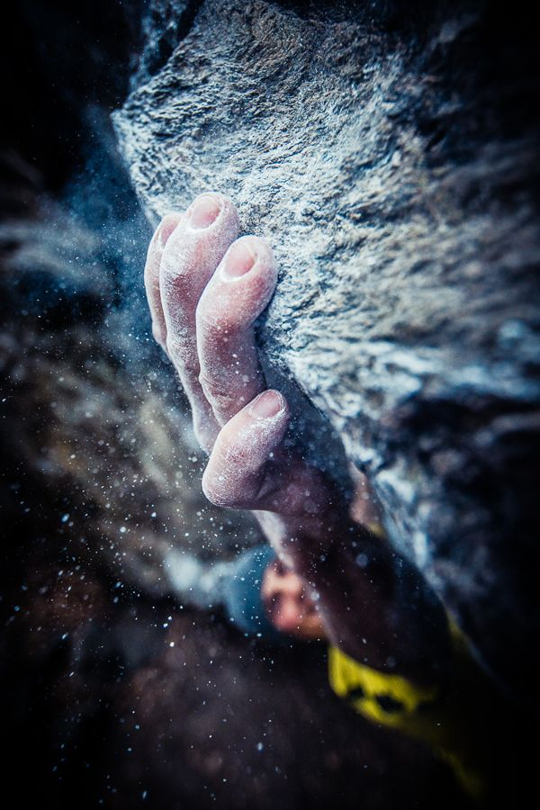 Portraits of a Climber Hanging By His Fingertips - My Modern Metropolis