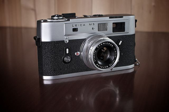 Leica M5 - It grows on you....... by J Howe, via Flickr