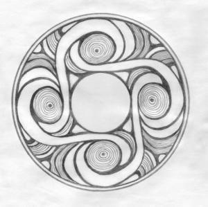 Трипольский символ