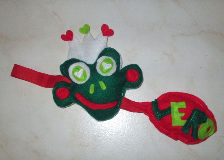 grenouille feutrine