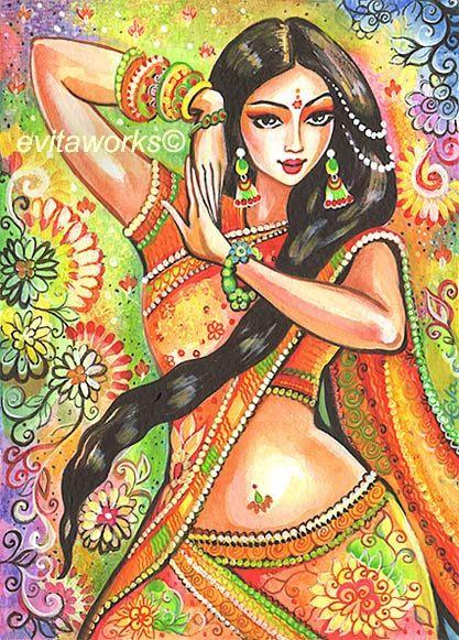 Indian Dancer Indian Art