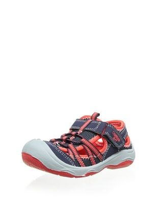 57% OFF OshKosh B'Gosh Motion-B Bump Toe  Sandal (Toddler/Little Kid) (Navy/Red)
