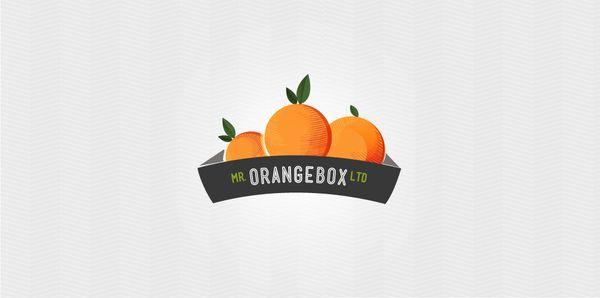 Mr. Orangebox by Emma Bedelle, via Behance