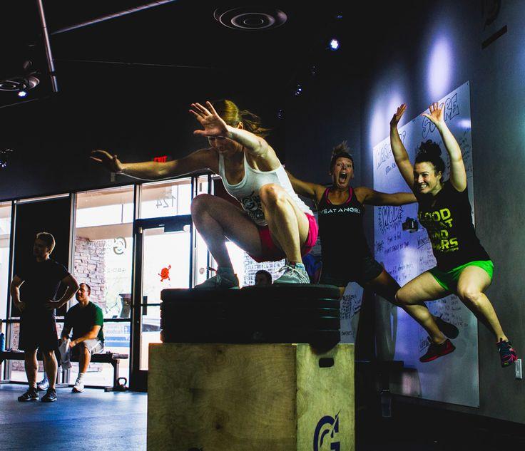 Best garage gym wods images on pinterest exercises